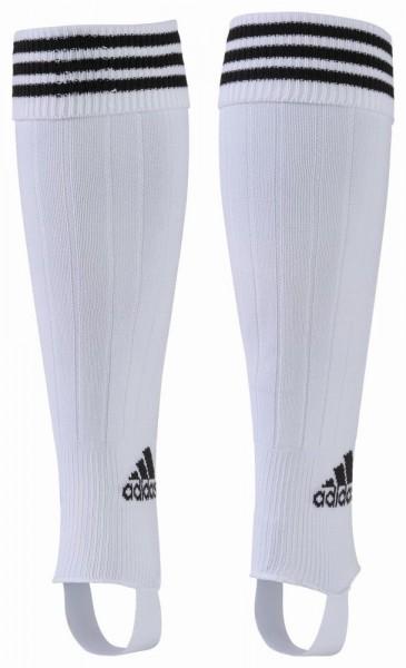 Adidas 3-Streifen Fussball Stutzen Herren Socken mit Logo weiß schwarz