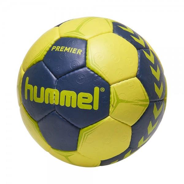 Hummel Handball Handball Premier Trainingsball gelb marine