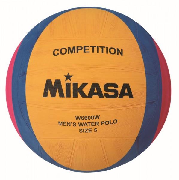 Mikasa Wasserball W6600W Spielball Herren Gr 5 gelb blau pink