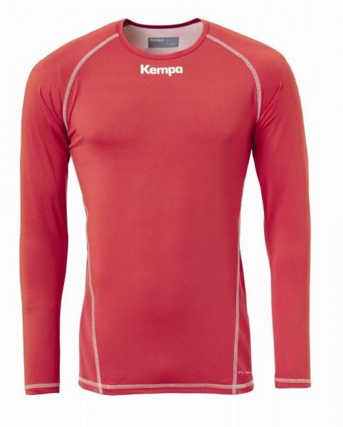Kempa Attitude Langarmshirt, Kinder, rot