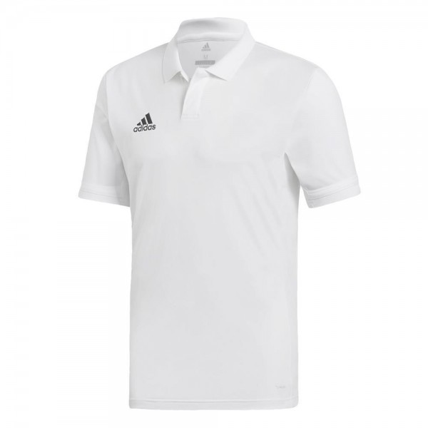 Adidas Team 19 Polo-Shirt Herren weiß
