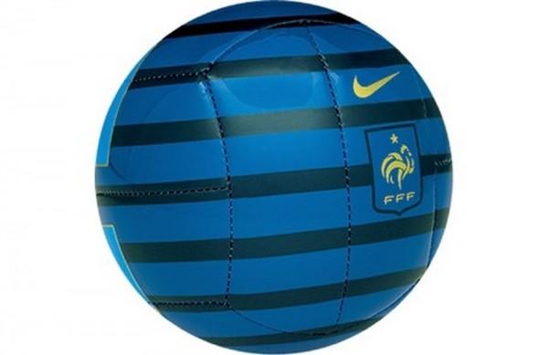 Nike Fußball Frankreich Mini Ball Größe 1 blau gold