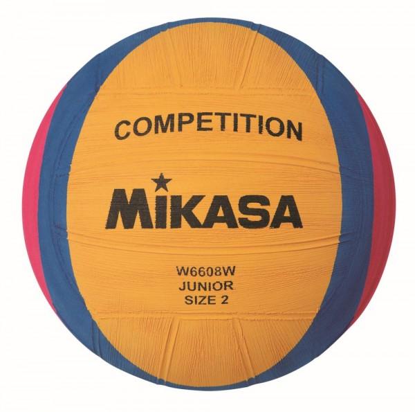 Mikasa Wasserball W6608W Competition Junior Ball Gr 3 gelb blau pink