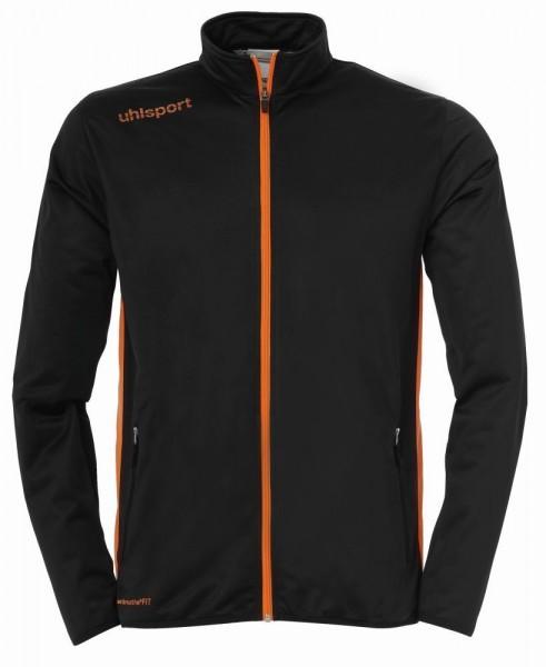Uhlsport Fußball Kinder Essential Classic Trainingsanzug Jacke Hose schwarz orange