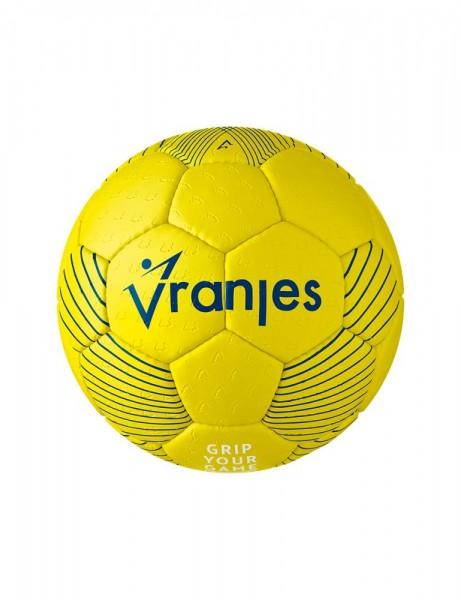 Erima Handball Vranjes17 Trainingsball Spielball gelb blau
