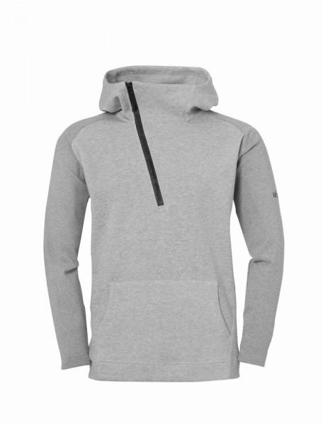 Uhlsport Fußball Essential Pro Hoodie Herren Sweatshirt grau
