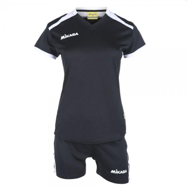 Mikasa Volleyball Trikot Set Damen schwarz weiß