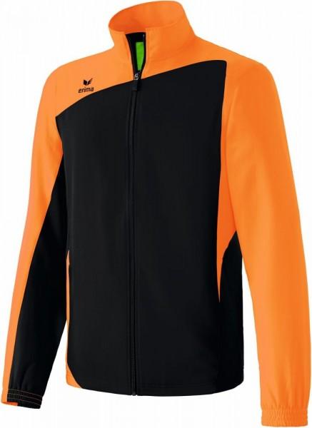 Erima Fußball Handball Club 1900 Präsentationsjacke Herren Sport Jacke schwarz orange