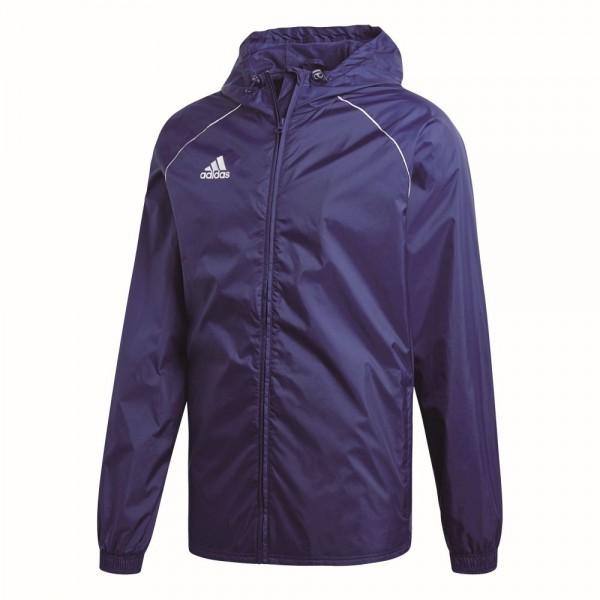 Adidas Fußball Core 18 Regenjacke Fußballjacke Herren dunkelblau