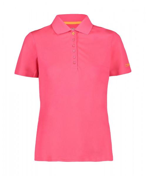 CMP Pique-Poloshirt Damen coral