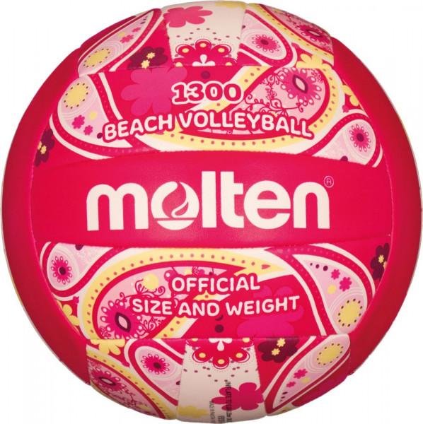 Molten V5B1300-PM Freizeit Beachvolleyball pink magenta Gr 5
