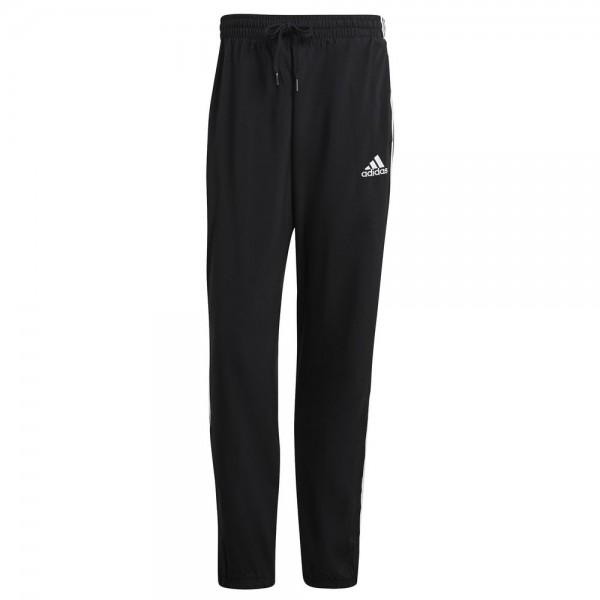 Adidas Essentials Samson 3-Streifen Hose Herren schwarz weiß