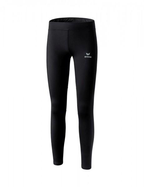 Erima Running Performance Winterlaufhose Lauftight Damen schwarz weiß