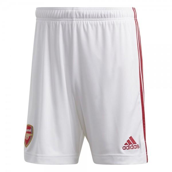 Adidas Arsenal London Home Shorts 2020 2021 Herren weiß rot