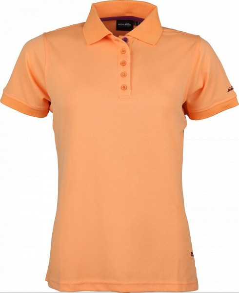 High Colorado Outdoor Damen Seattle-L Funktions Poloshirt orange