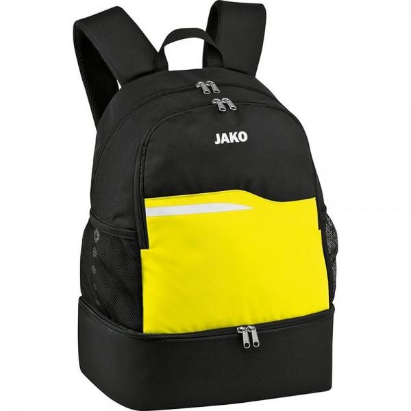 Jako Fußball Rucksack Competition 2.0 Unisex Herren Kinder Einheitsgröße schwarz gelb