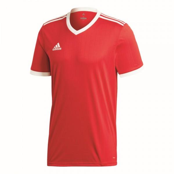 Adidas Tabela 18 Fußball Match Trikot Herren Teamtrikot kurzarm rot weiß