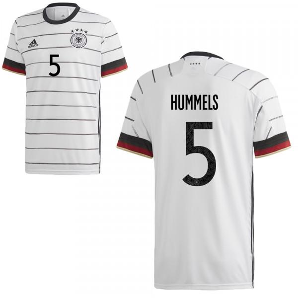 Adidas Deutschland Heimtrikot UEFA Euro 2020 Herren Hummels 5
