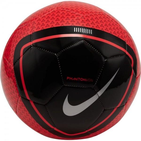 Nike Phantom Vision Fußball Größe 5 rot schwarz
