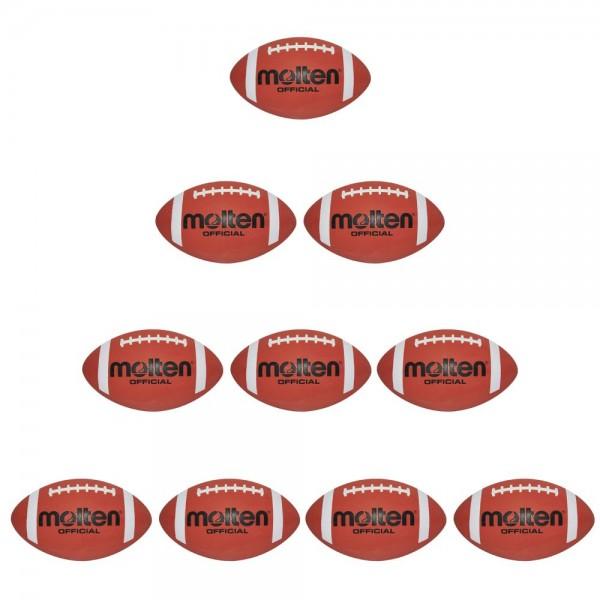 Molten American Football AFR 10er Paket 300 mm Erwachsene braun