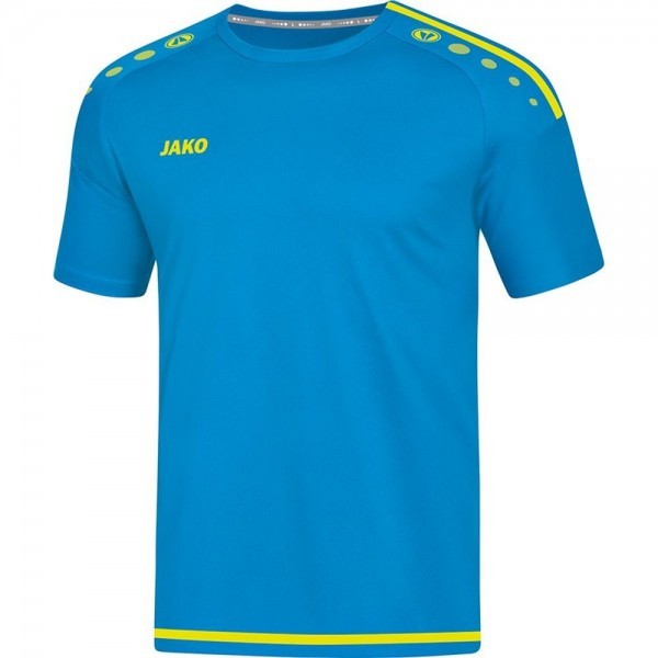Jako Fußball Trikot Striker 2.0 Herren Kurzarmshirt hellblau gelb