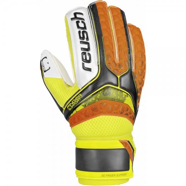 Reusch Fußball Torwart Handschuhe Re:pulse SG FiSupport Herren orange schwarz