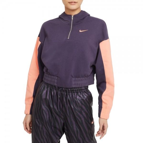 Nike Sportswear Icon Clash Hoodie Damen lila