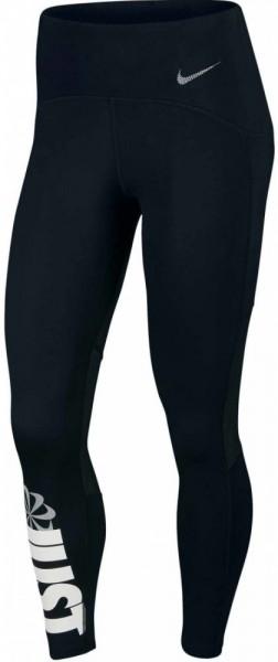 Nike Speed 7/8 Laufhose Damen schwarz weiß