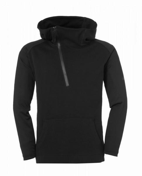 Uhlsport Fußball Essential Pro Hoodie Herren Sweatshirt schwarz
