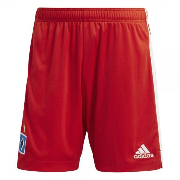 Adidas Hamburger SV Home Shorts 2020 2021 Herren rot weiß