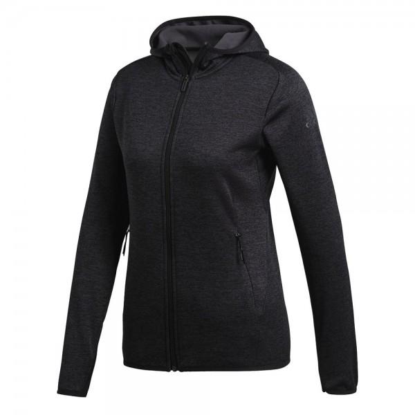 Adidas FreeLift Tech Warm Kapuzenjacke Damen dunkelgrau