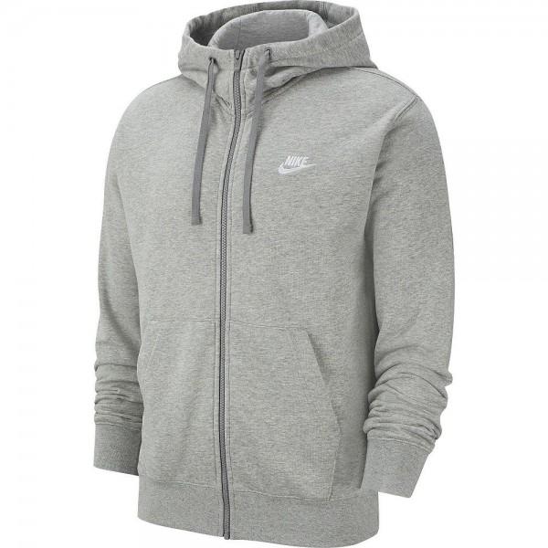 Nike Herren Sportswear Club Jacke grau weiß