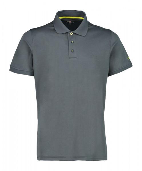 CMP Funktions-Poloshirt Herren grau