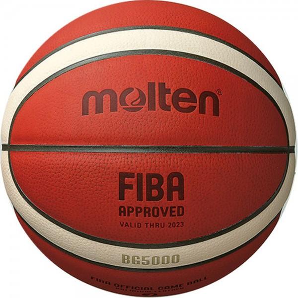 Molten Basketball B7G5000 FIBA Wettspielball Matchball orange Gr 7