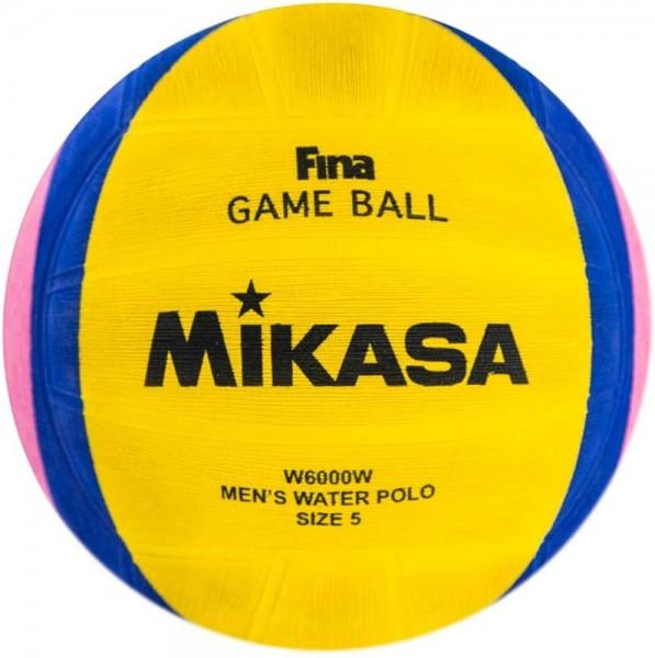 Mikasa Wasserball W6000W Spielball Herren Gr 5 gelb blau pink