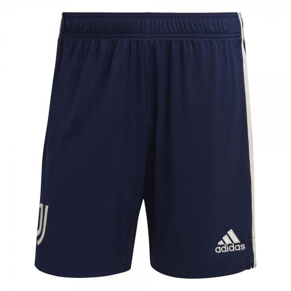 Adidas Juventus Turin Away Shorts 2020 2021 Kinder dunkelblau