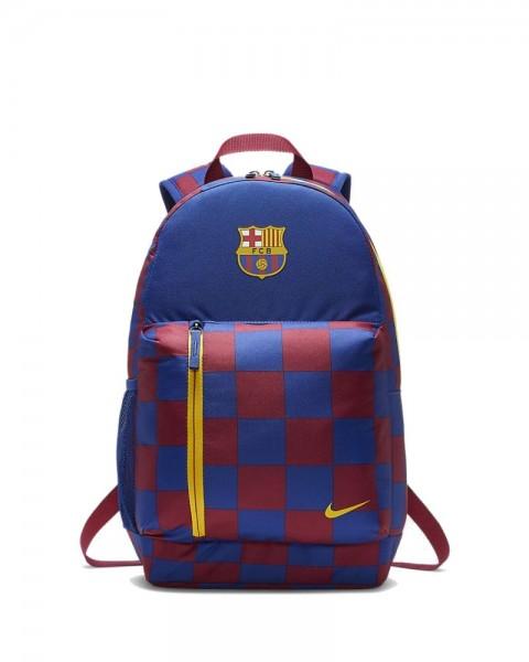 Nike FC Barcelona Stadium Kinder Rucksack blau rot