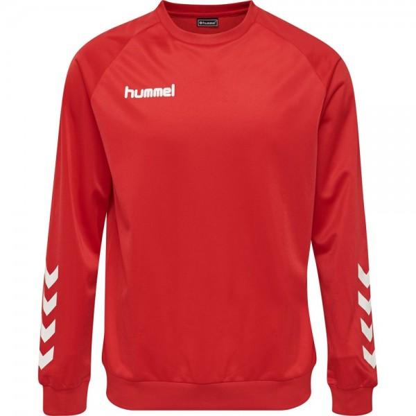 Hummel Promo Poly Sweatshirt Herren rot