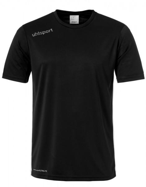 Uhlsport Fußball Essential Trikot Herren Kurzarmshirt schwarz weiß