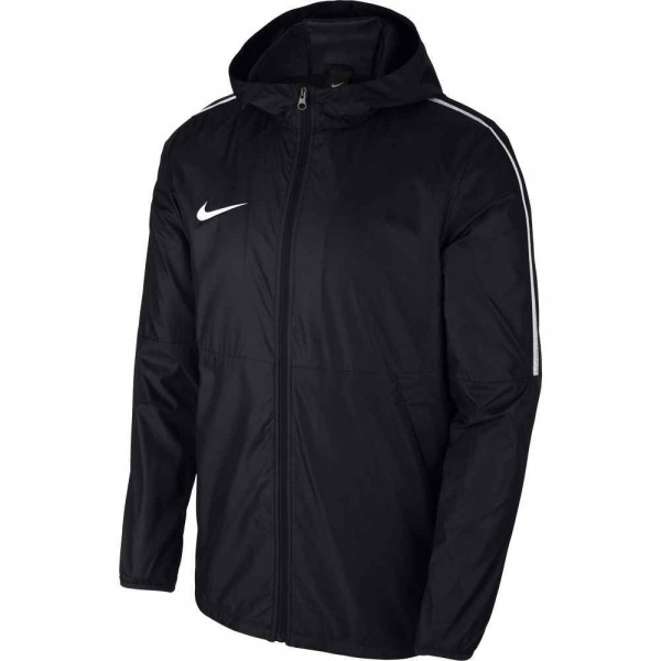 Nike Fußball Park 18 Regenjacke Fußballjacke Kinder schwarz