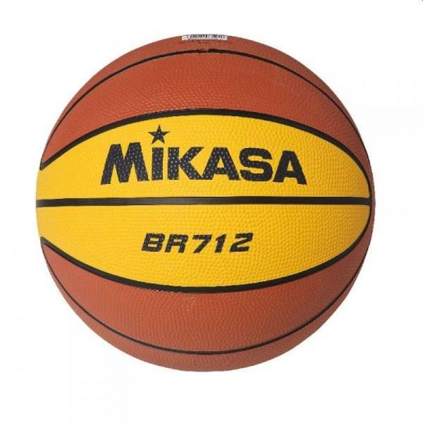 Mikasa Basketball BR712 gelb braun Gr 7