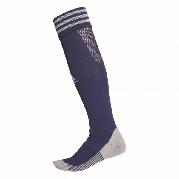 Adidas Adisock 18 Herren Match Stutzen Kniestrümpfe Fußballsocken dunkelblau weiß