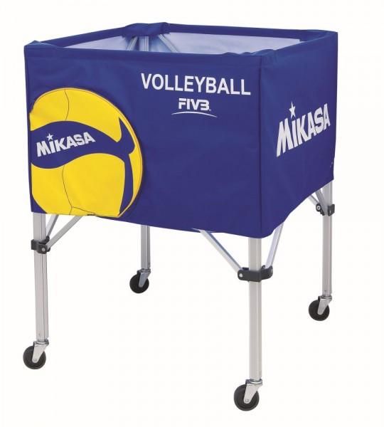 Mikasa Volleyball AC-BC200W Ballwagen blau