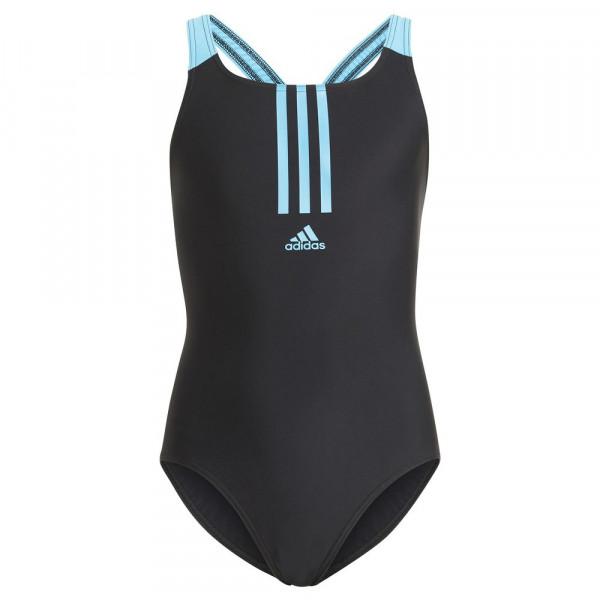 Adidas Badeanzug Mädchen schwarz türkis