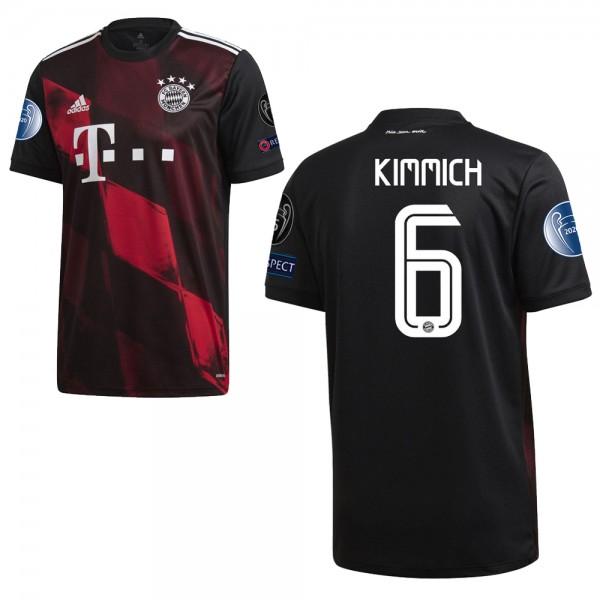 Adidas FC Bayern München Ausweichtrikot 2020 2021 CL Logos Herren Kimmich 6