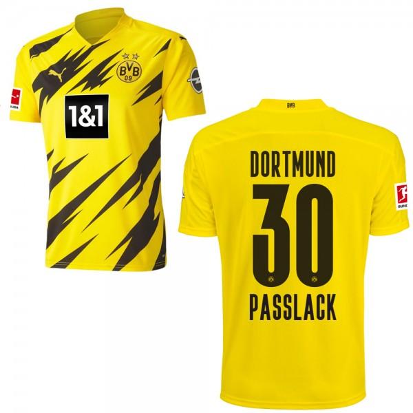 Puma Borussia Dortmund Heimtrikot 2020 2021 Herren Felix Passlack 30