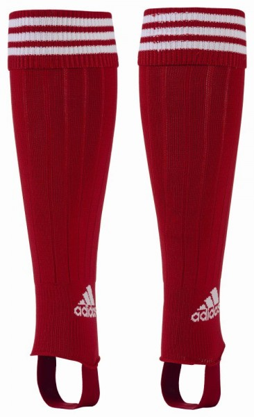 Adidas Fußball Herren 3-Streifen Stutzen rot weiß