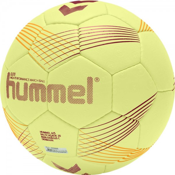 Hummel Handball Elite gelb orange rot