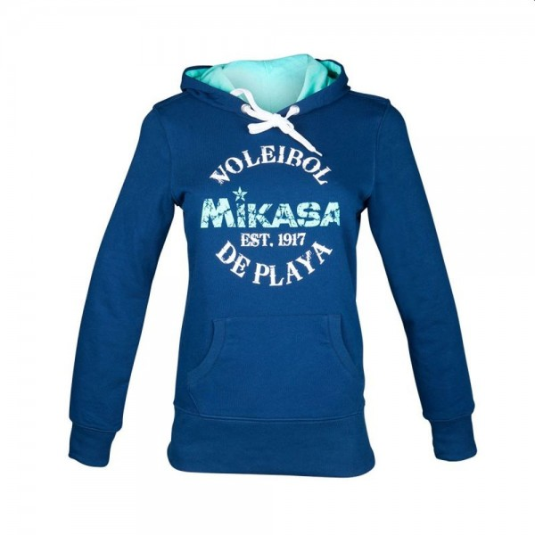 Mikasa Beachvolleyball Hoodie Damen navy