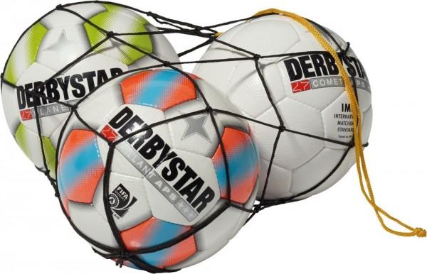 Derbystar Fußball Ballnetz Für 5 Bälle schwarz